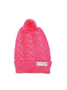 Touca Gorro Trança Tricot Pink Chandra