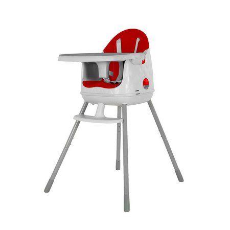 Cadeira De Alimentação Jelly Vermelha Safety