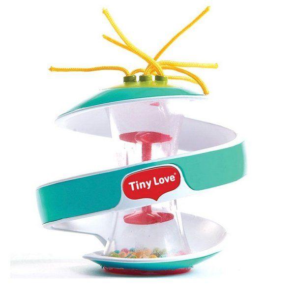 Brinquedo De Atividade Inspiral Ball Verde Turquesa 12m+ Tiny Love