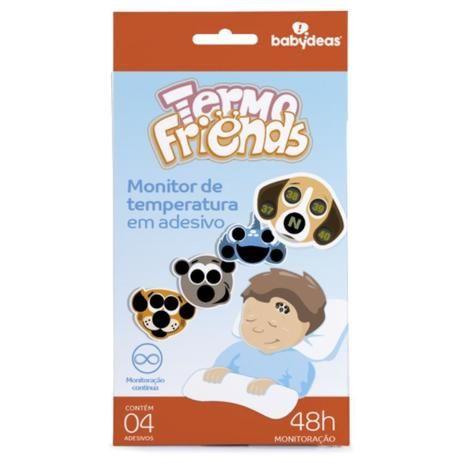 Termo Friends Monitor De Temperatura Em Adesivo Babydeas