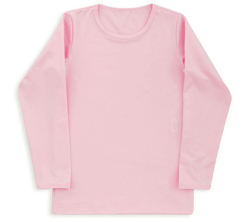 Camiseta Infantil Em Thermo Dry Rosa Bebê Dedeka