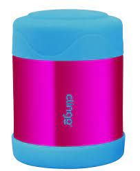 Pote Térmico Inox Rosa E Azul Clingo