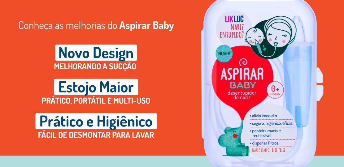 Desentupidor De Nariz Aspirar Baby 0m+ LikLuc