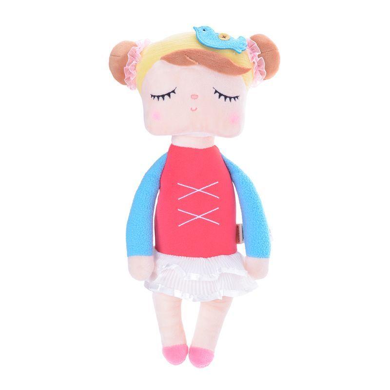Boneca Angela Bailarina Vermelha 33cm Metoo
