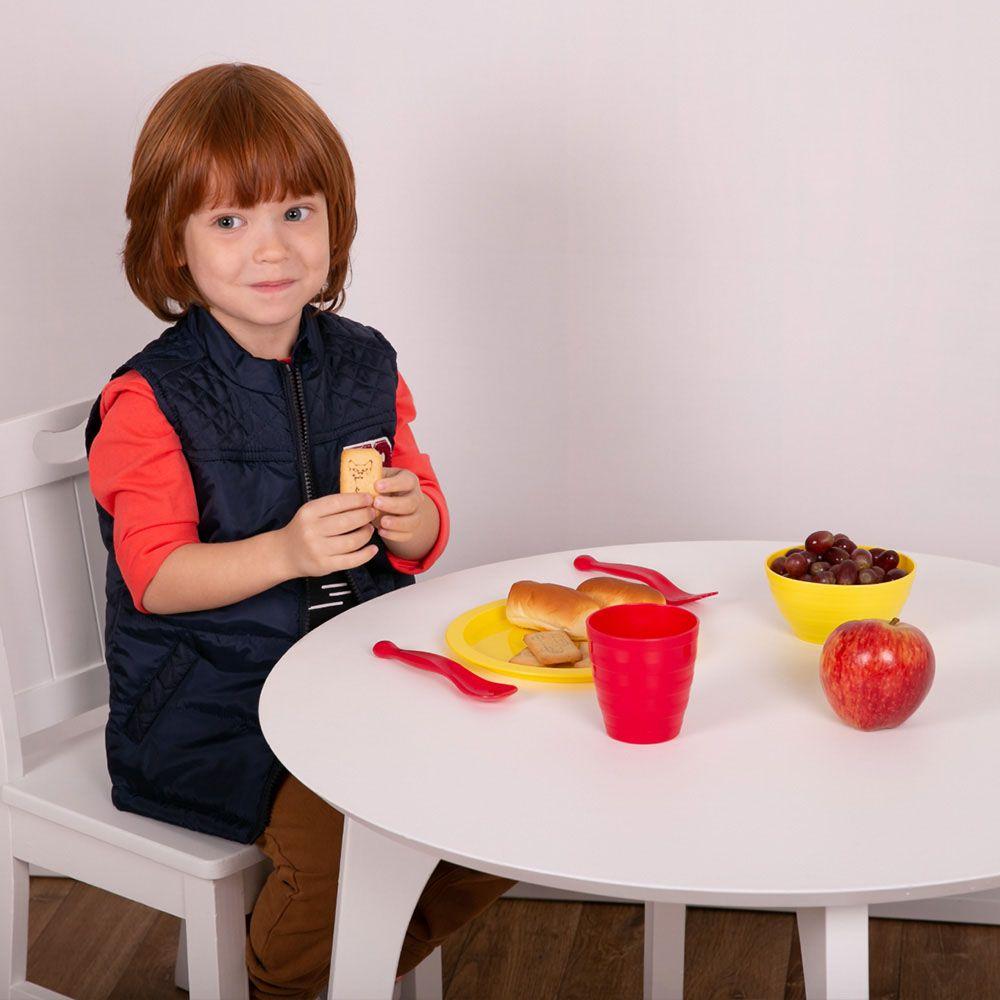 Kit Tigelas Plásticas Comtac Kids & Care