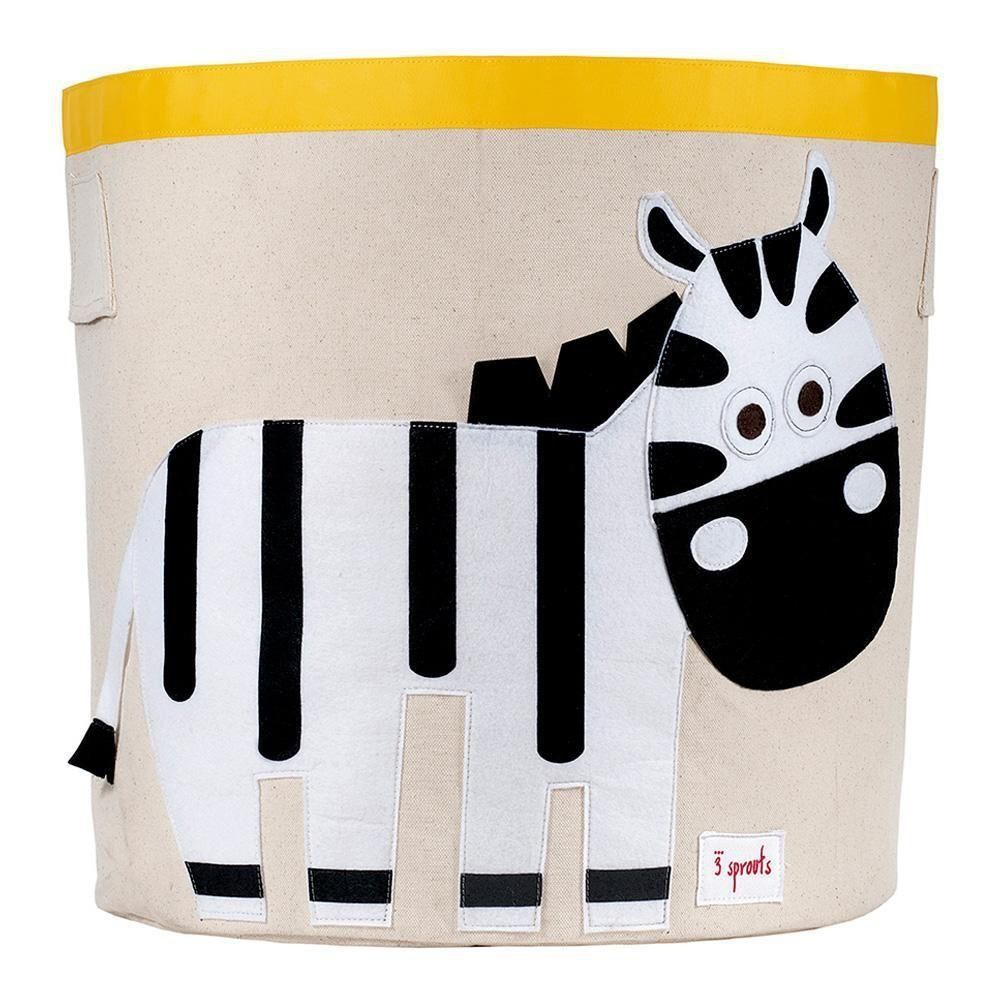 Cesto Organizador Redondo Zebra 3 Sprouts