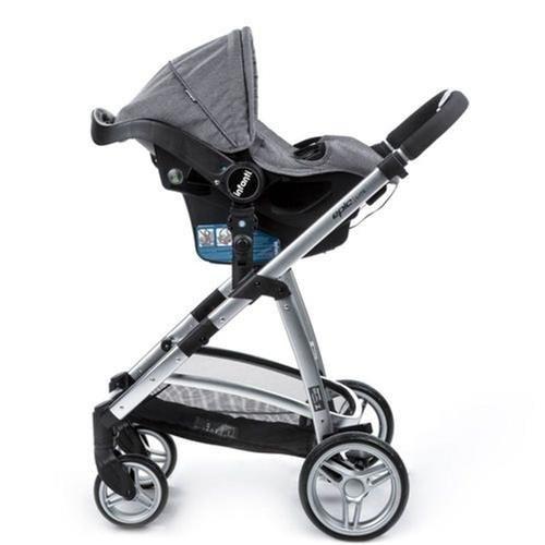Carrinho De Bebê Travel System Epic Lite Trio Grey Classic Infanti