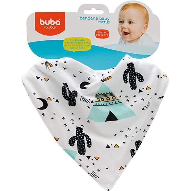 Babador Bandana Baby Cactus Buba