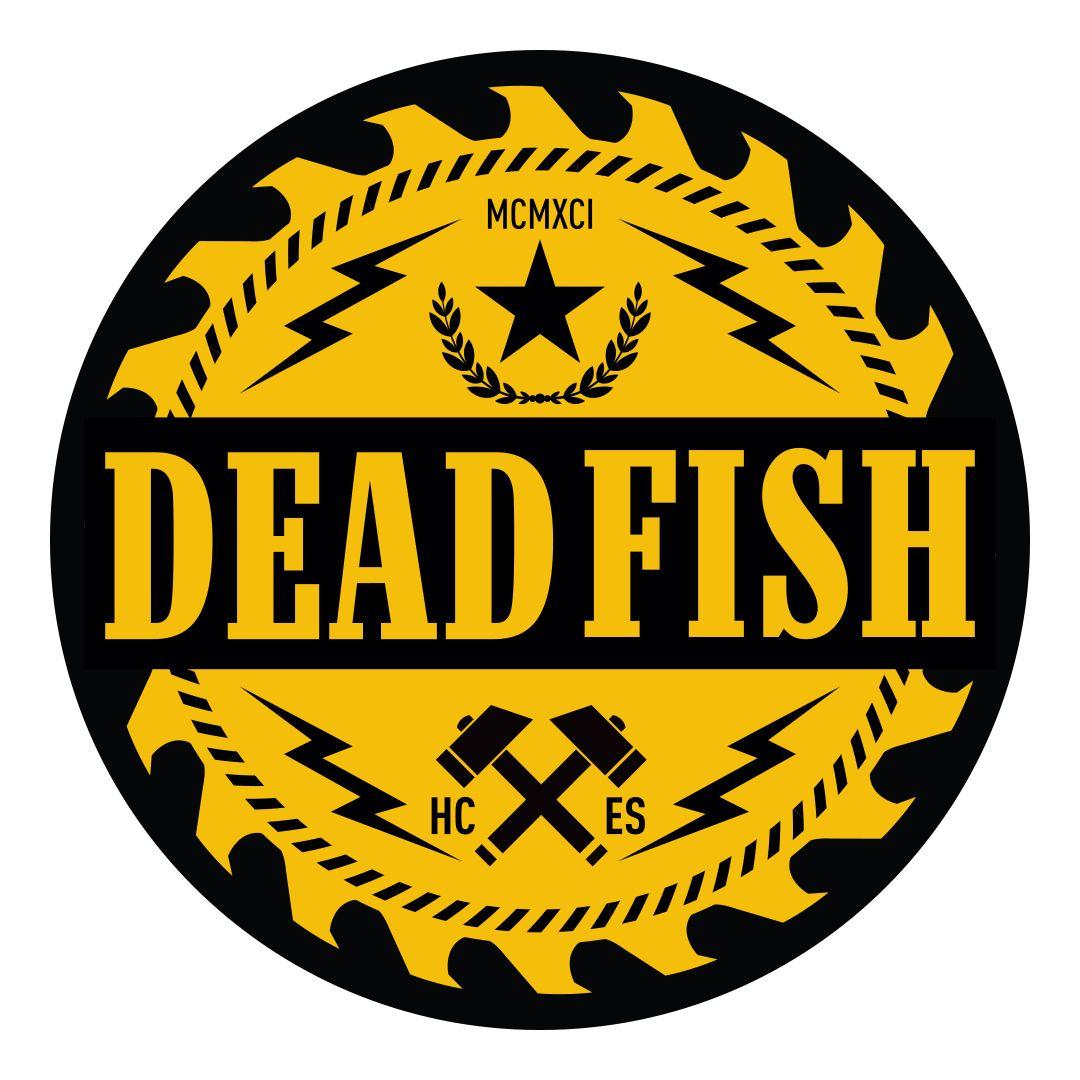 Dead Fish - Serra [Adesivo]