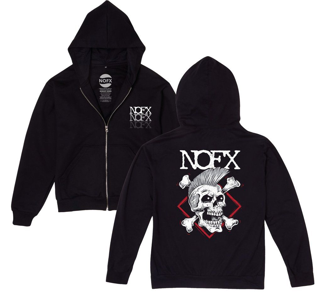 NOFX - Punk Skull [Moletom Zíper]