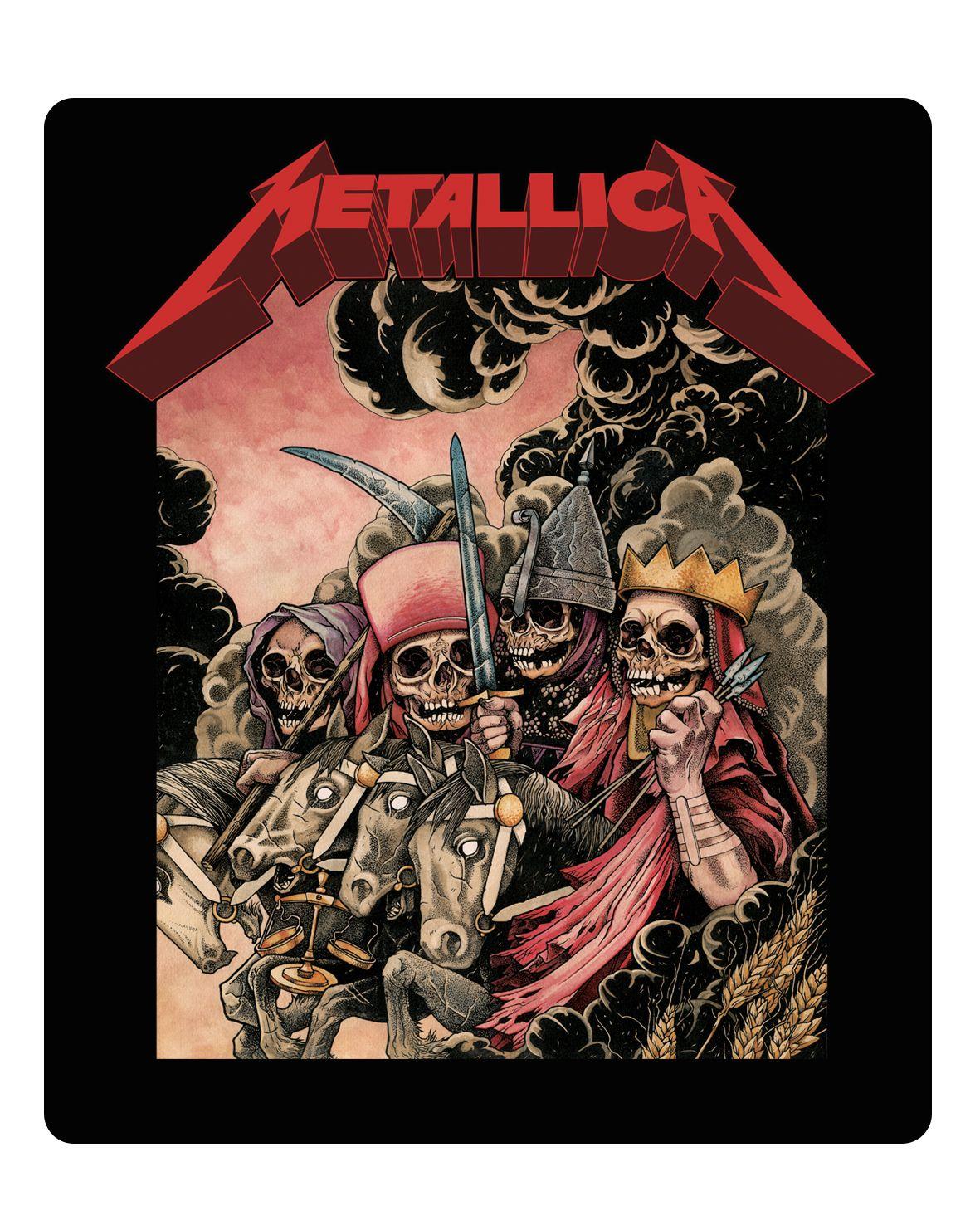 Metallica - The Four Horsemen [Adesivo]