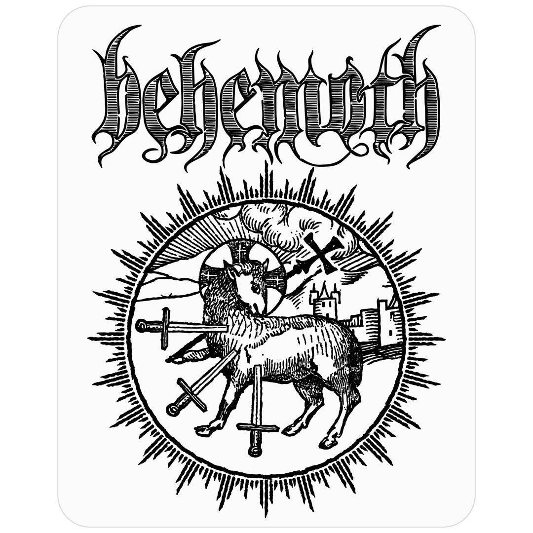 Behemoth - Lamb [Adesivo]