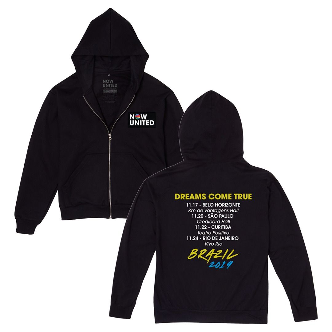 Now United - Dreams Come True Brazil 2019 [Soft Hoodie]