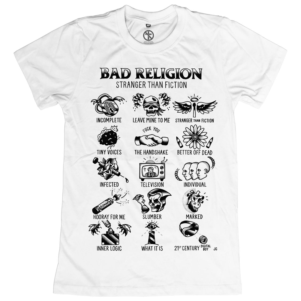 Bad Religion - Stranger Than Fiction Flash