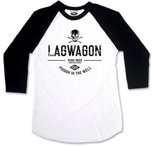 Lagwagon - Poison In The Well [Raglan 3/4]