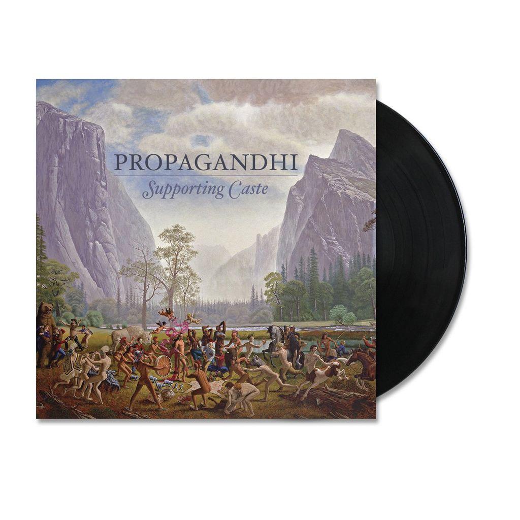 Propagandhi - Supporting Castle + Flexi [Azul] [LP Gatefold + EP Bundle]