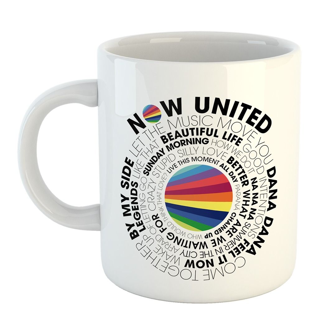 Now United - Song List [Caneca]