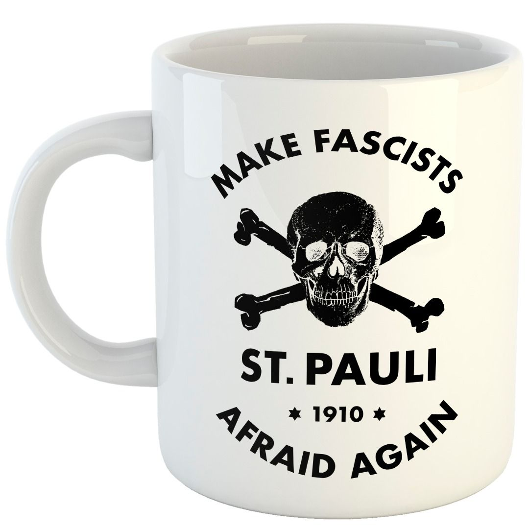 St. Pauli - Make Fascists Afraid [Caneca]