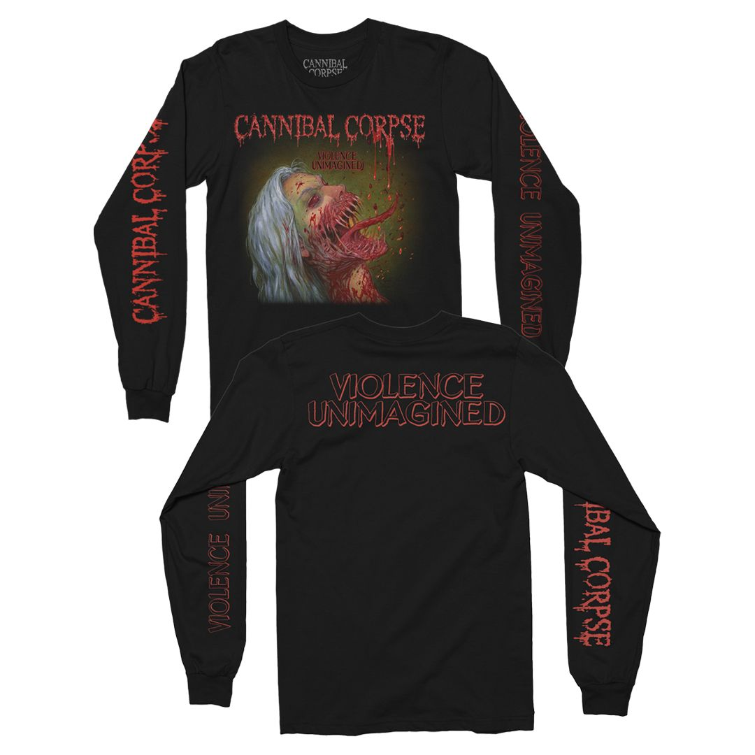 Cannibal Corpse - Violence Unimagined [Manga Longa]