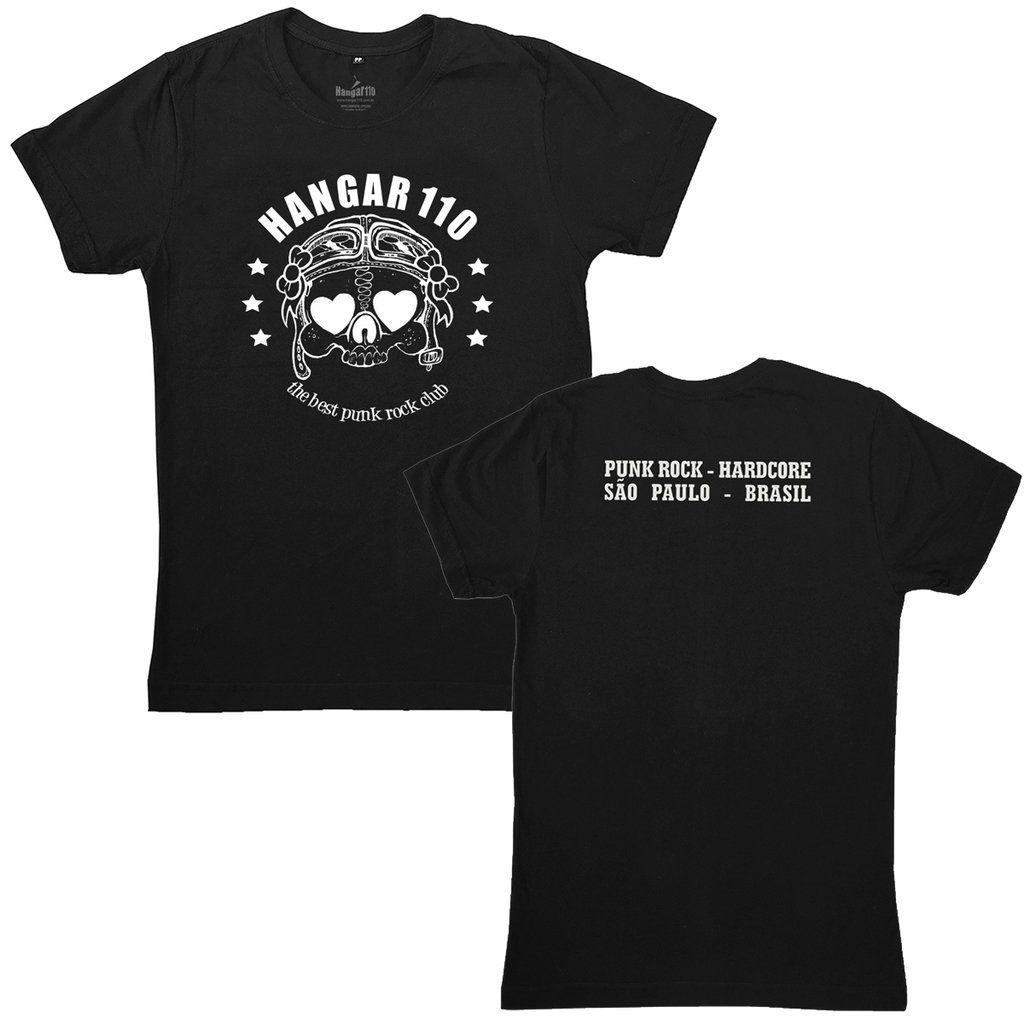 Hangar 110 - Caveira [Camiseta Feminina]