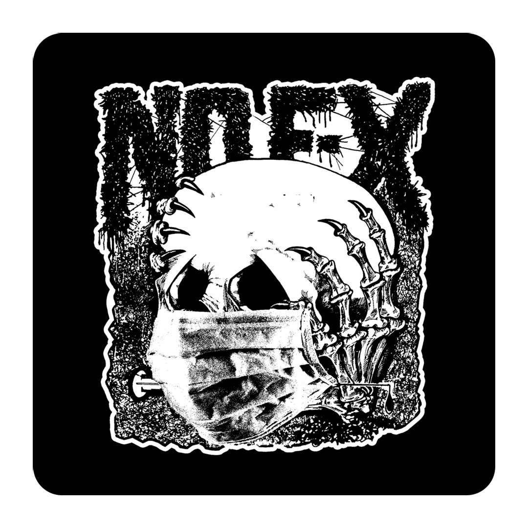 NOFX - Skull Mask [Adesivo]