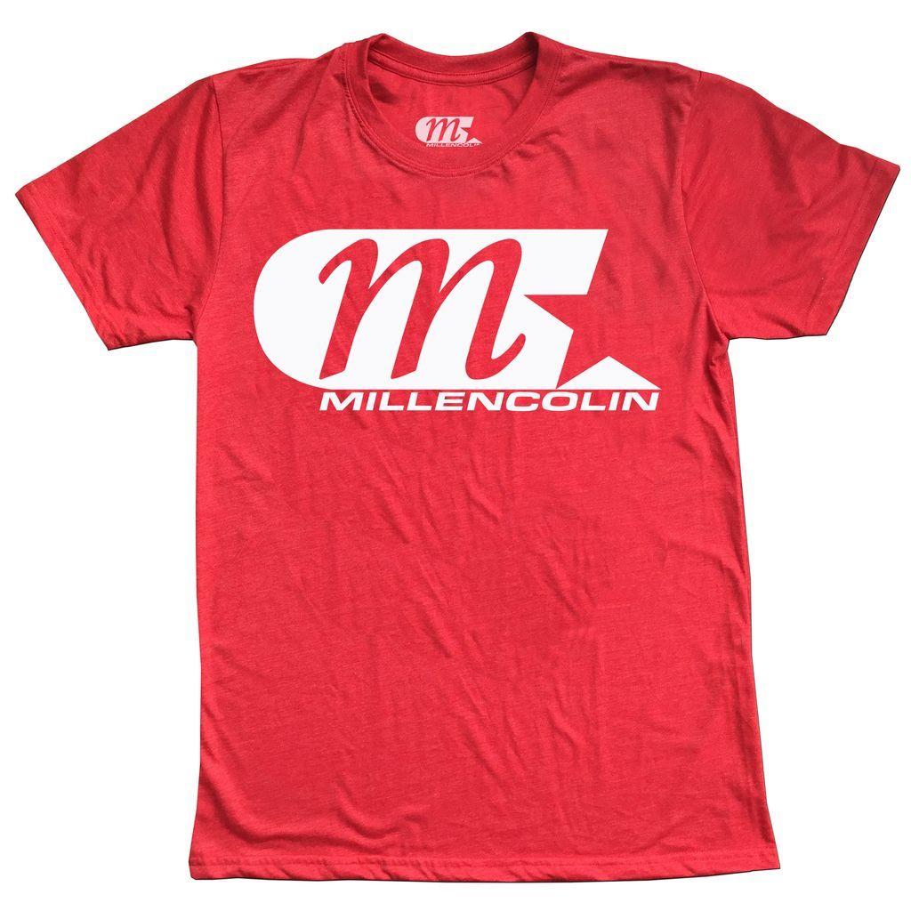 Millencolin - Logo [Vermelho Mescla]