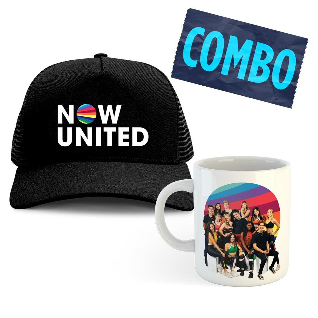Combo: Now United - Trucker Hat + Caneca Dreams Come True