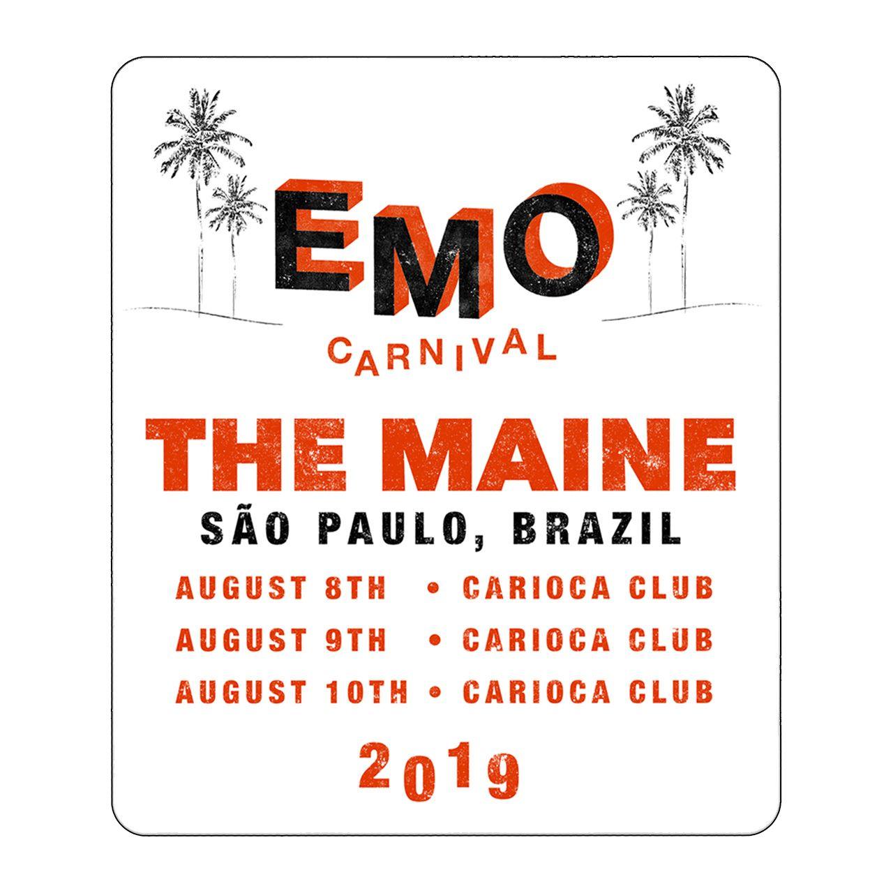 The Maine - Emo Carnival [Adesivo]