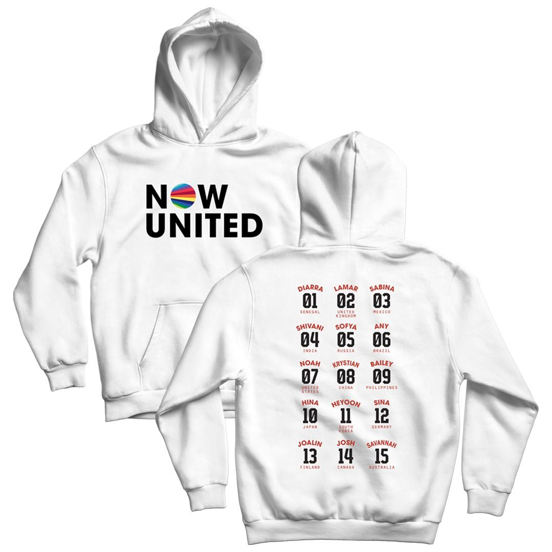 Now United - Classic Logo [Soft Hoodie Branco]