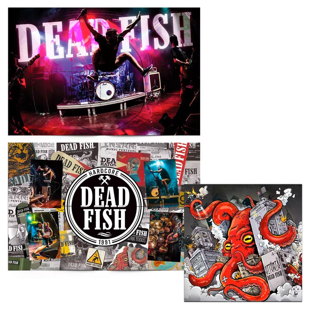 Combo: Dead Fish - CD Vitória + Pôster 30 Anos
