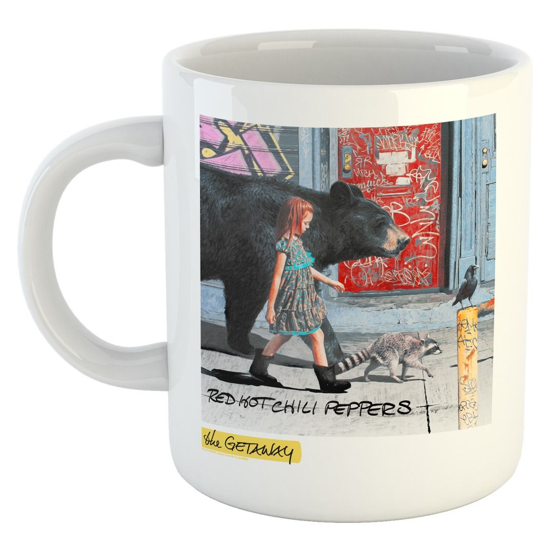 Red Hot Chili Peppers - The Getaway [Caneca]