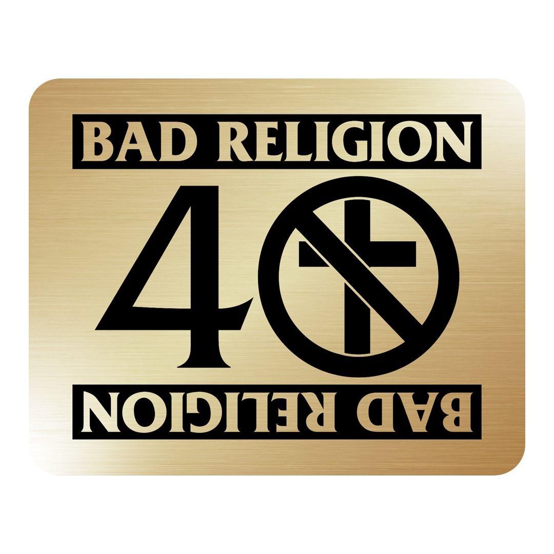 Bad Religion - 40 Years [Adesivo Dourado]