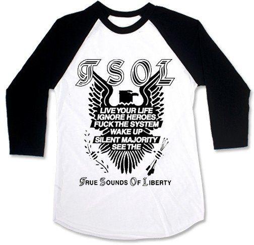 TSOL - Eagle Baseball [Raglan 3/4]