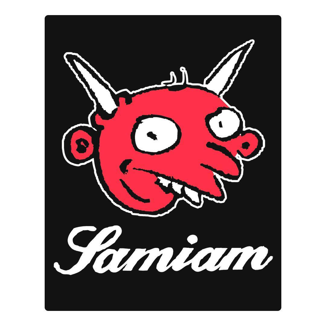 Samiam - Devil Face [Adesivo]