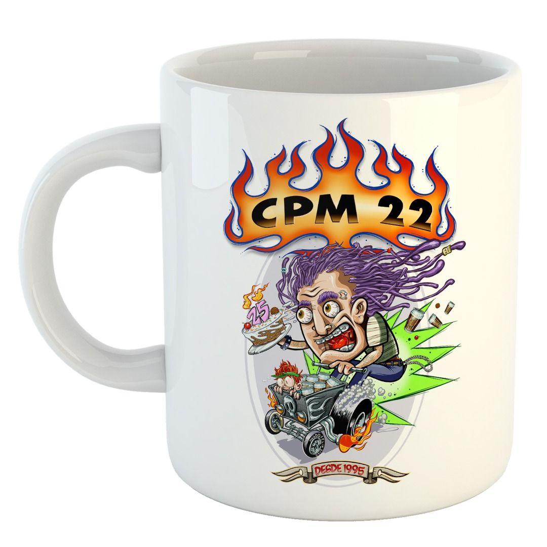 CPM 22 - 25 Anos: 1995 - 2020 [Caneca]