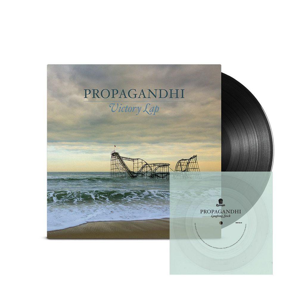 Propagandhi - Victory Lap + Flexi [Transparente] [LP Gatefold + EP Bundle]