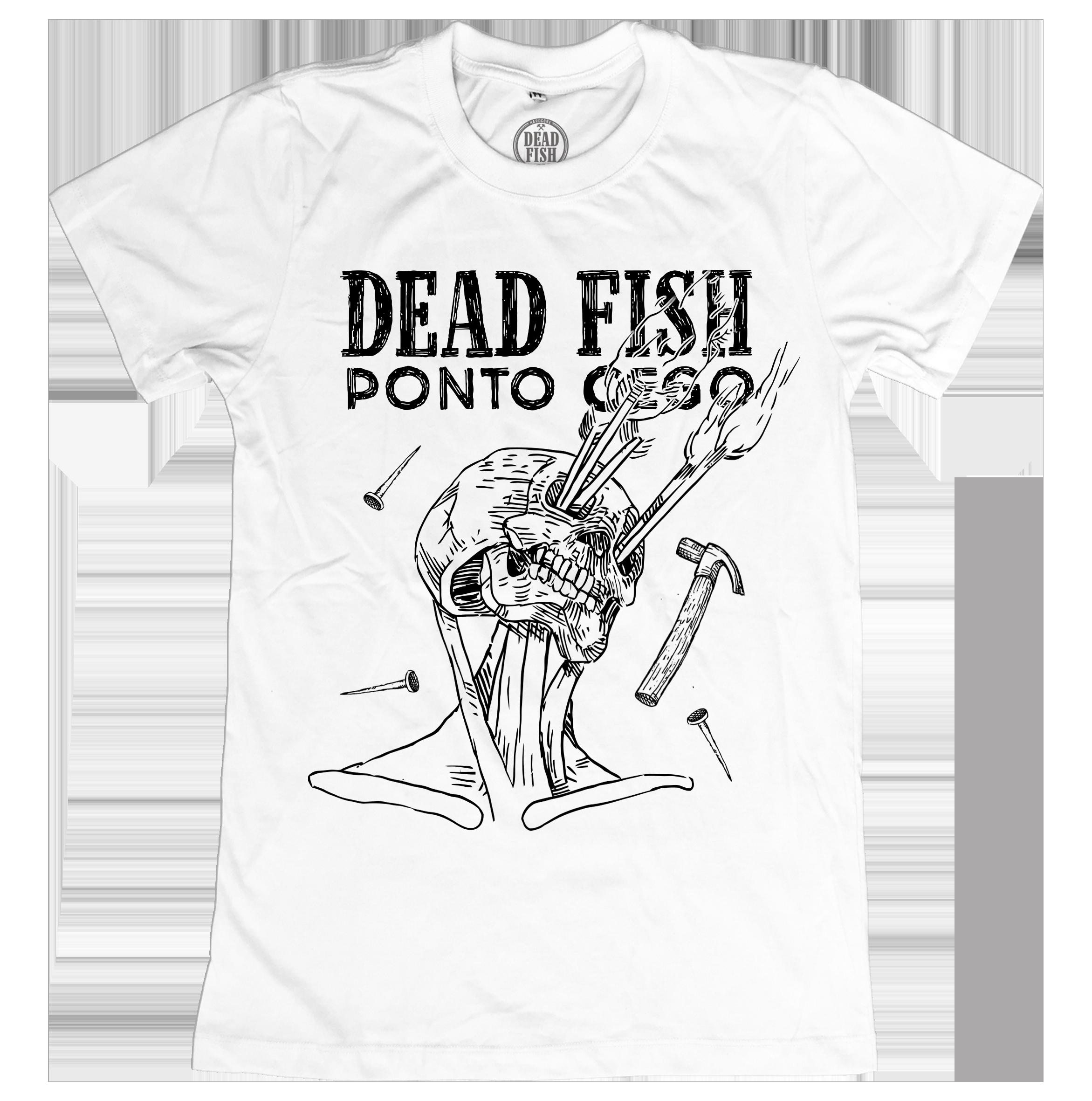 Dead Fish - Ponto Cego [Camiseta Branca]