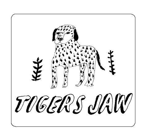 Tigers Jaw - Dalmatian [Adesivo]