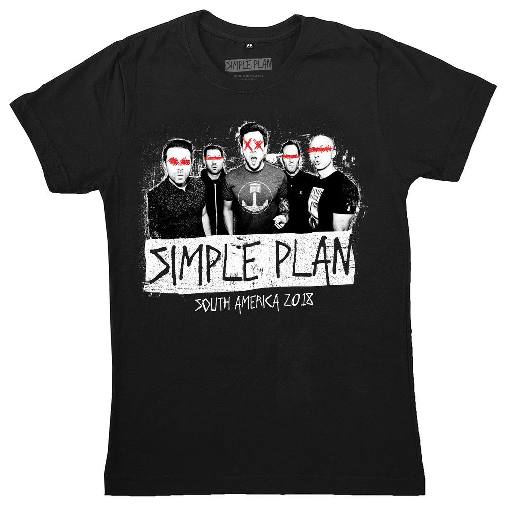 """Simple Plan - Picture """"South America 2018"""""""
