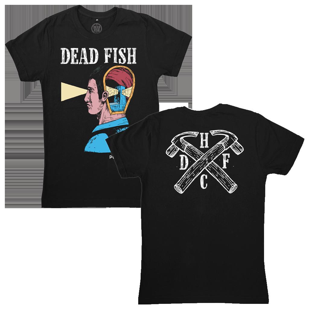 Dead Fish - Ponto Cego [Camiseta Preta]
