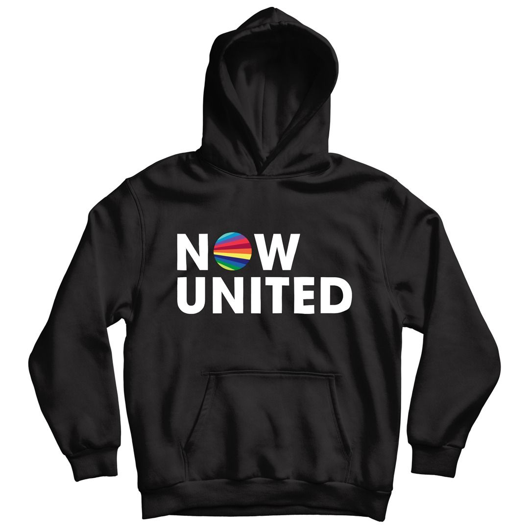 Now United - Logo [Soft Hoodie Preto]