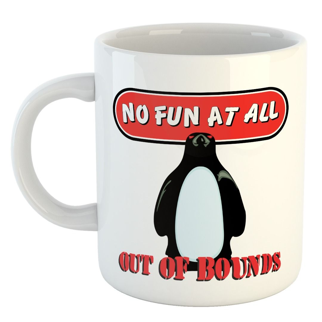 No Fun At All - Out Of Bounds Album [Caneca]