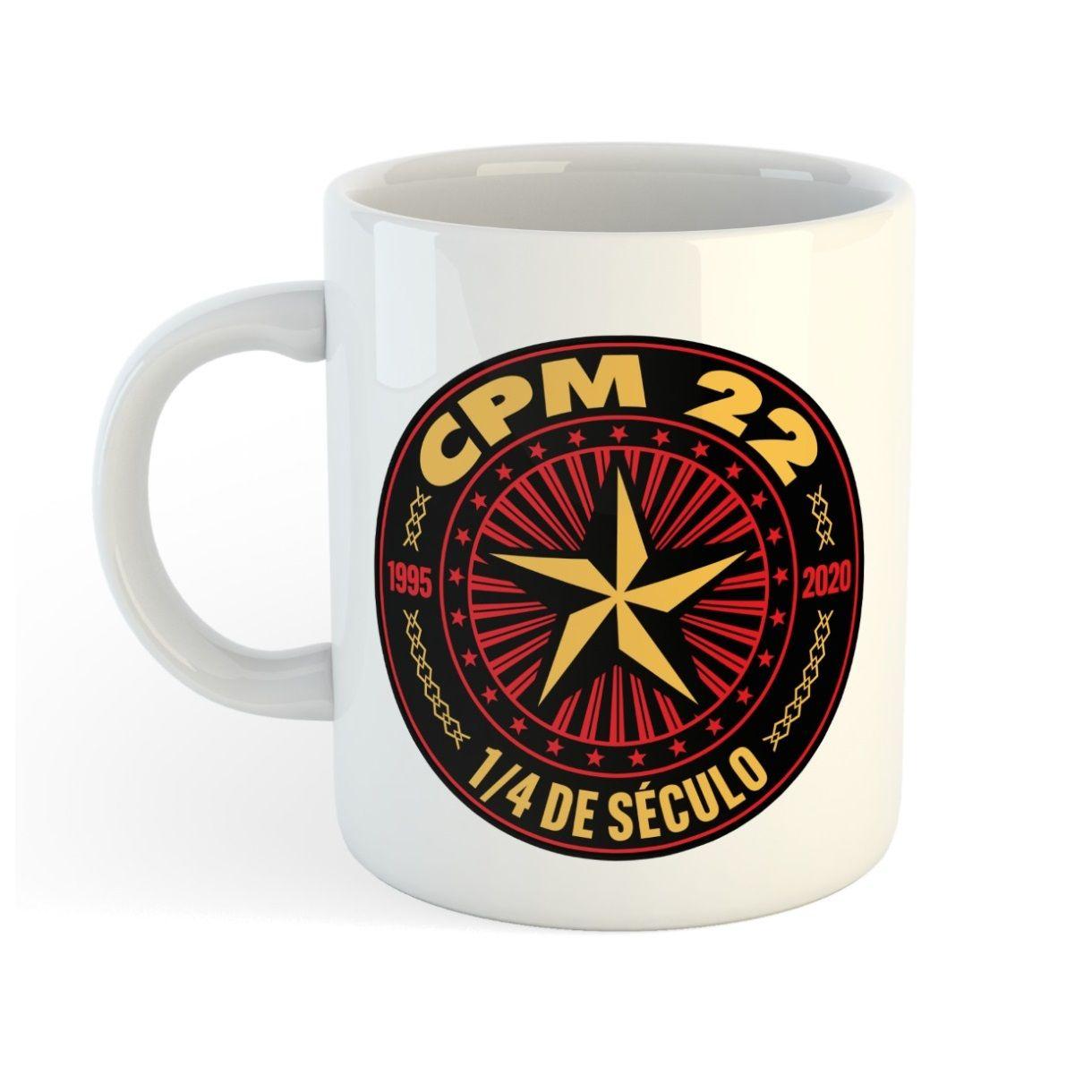 CPM 22 - 1/4 de Século [Caneca]