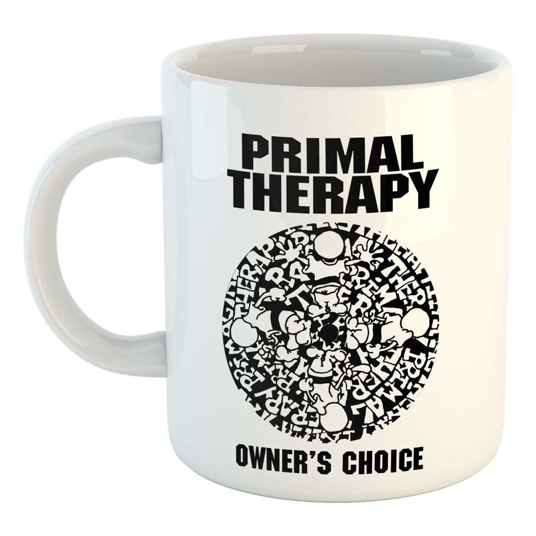 Primal Therapy - Label [Caneca]