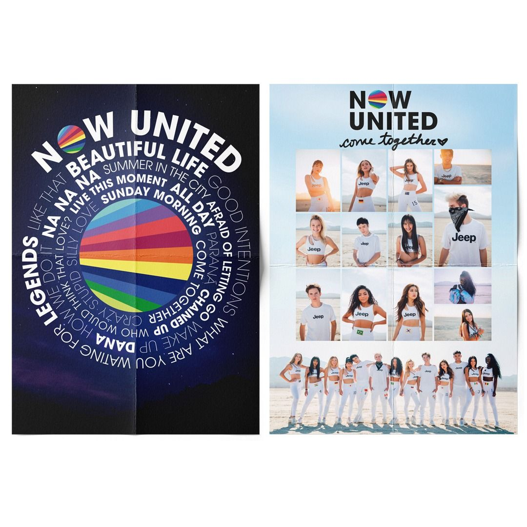Now United - Group / Come Together [Pôster sem Tubo]