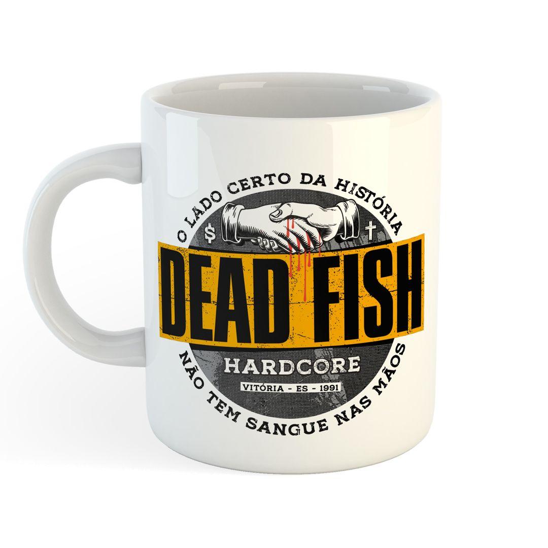 Dead Fish - Sangue nas Mãos [Caneca]