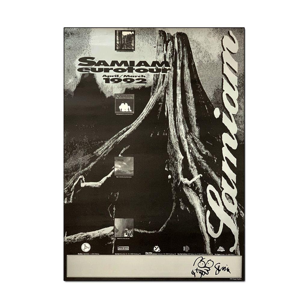Samiam - Eurotour 1992 [Poster]