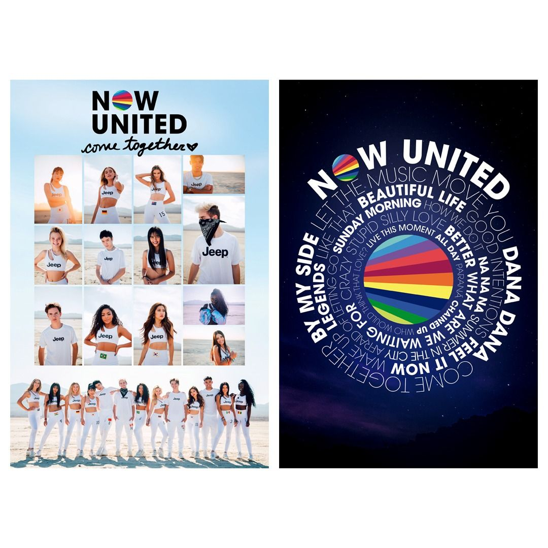 Now United - Group / Come Together [Pôster com Tubo]