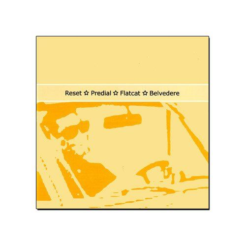 Four Lessons to Drive - Split Resetm Predial, Flatcat, Belvedere [CD]