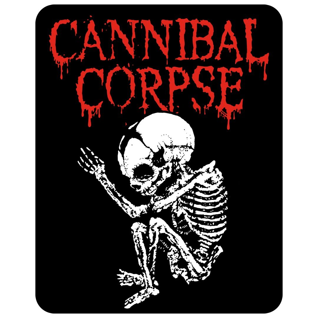 Cannibal Corpse - Butchered at Birth [Adesivo]